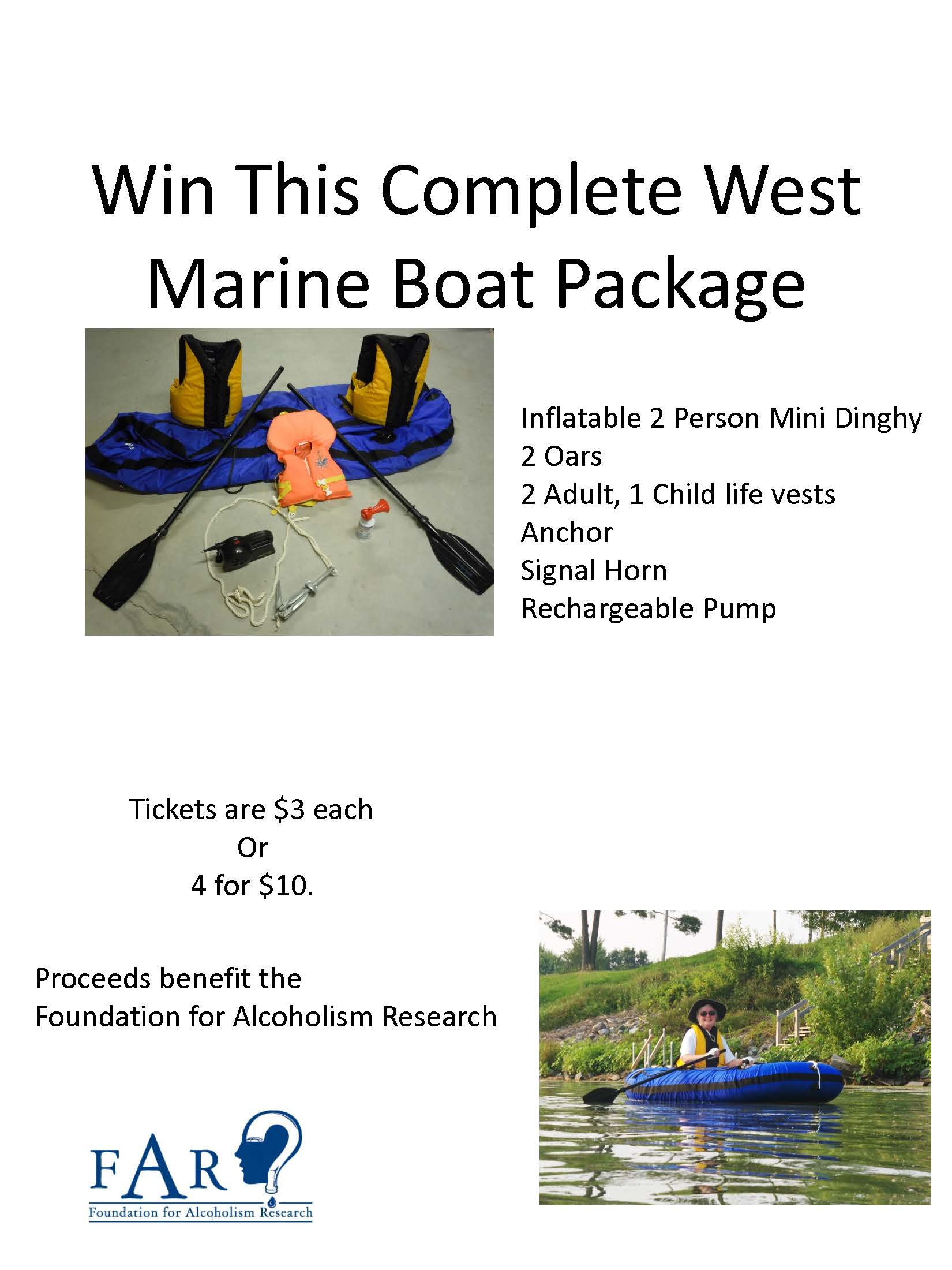 Boat Raffle Poster draft in jpeg