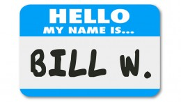 Hello My Name is Bill Nametag