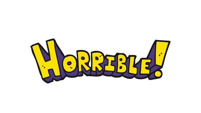 Horrible word art