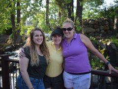 Caitlin, Bri and Mel