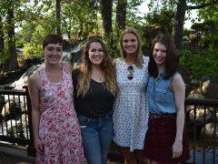 Caitlin, Sarah, Lindsey, Carolyn, Manned Tables