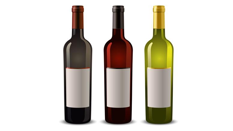 bottles blank label