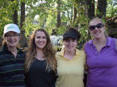 Kathleen, Caitlin, Brianne, Melanie